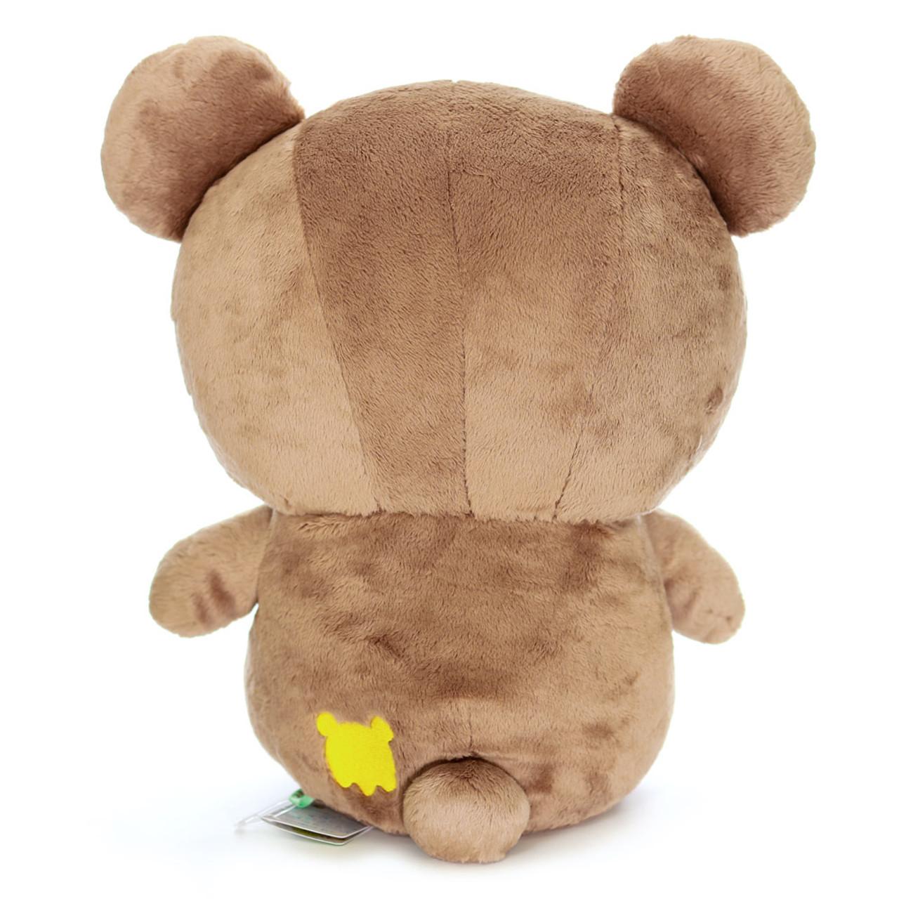 San-x Cute Sweet Chairoikoguma Bear Stuffed Animal Toy L MR94401 ( Back View )