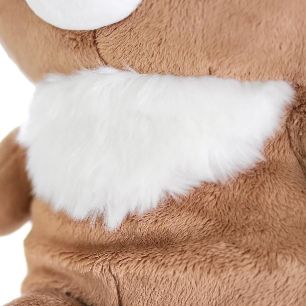 San-x Cute Sweet Chairoikoguma Bear Stuffed Animal Toy L MR94401 ( Chest View )