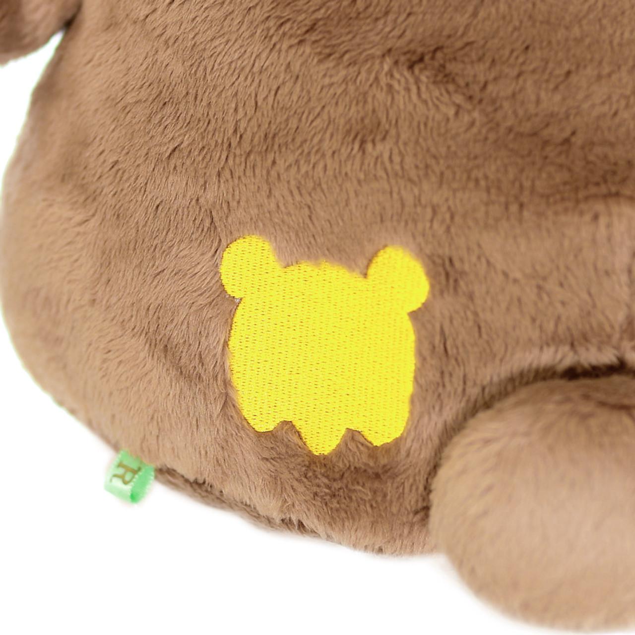San-x Cute Sweet Chairoikoguma Bear Stuffed Animal Toy L MR94401 ( Butt View )