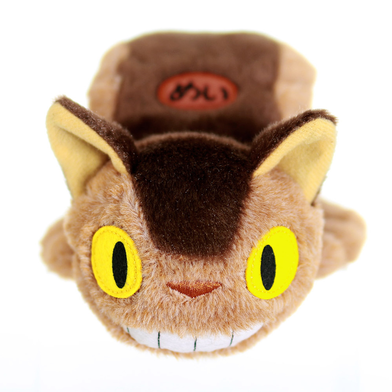 Cute Sweet Studio Ghibli Totoro Catbus Stuffed Animal Toy ( Front View )