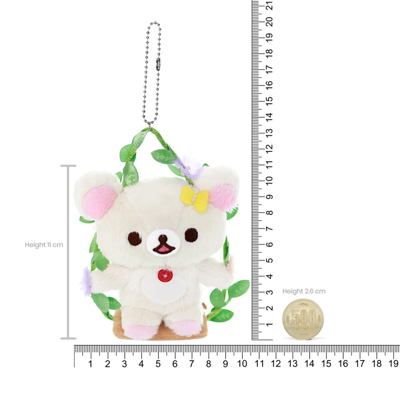 Cute Korilakkuma Vine Swing Plush Keychain Charm ( Proportion )