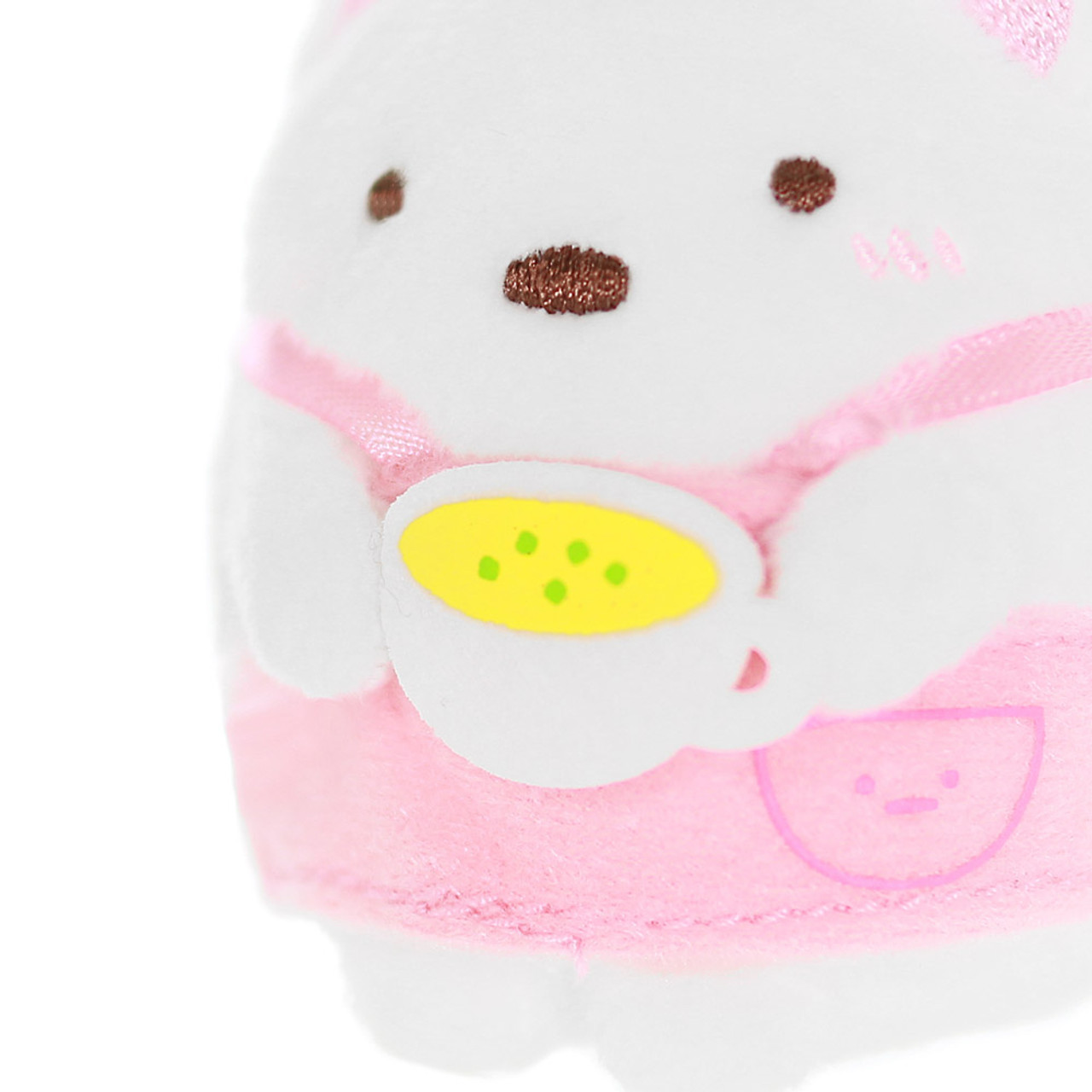 Sumikko Gurashi Polar Bear Palm Stuffed Animal - Chef ( Close-up )