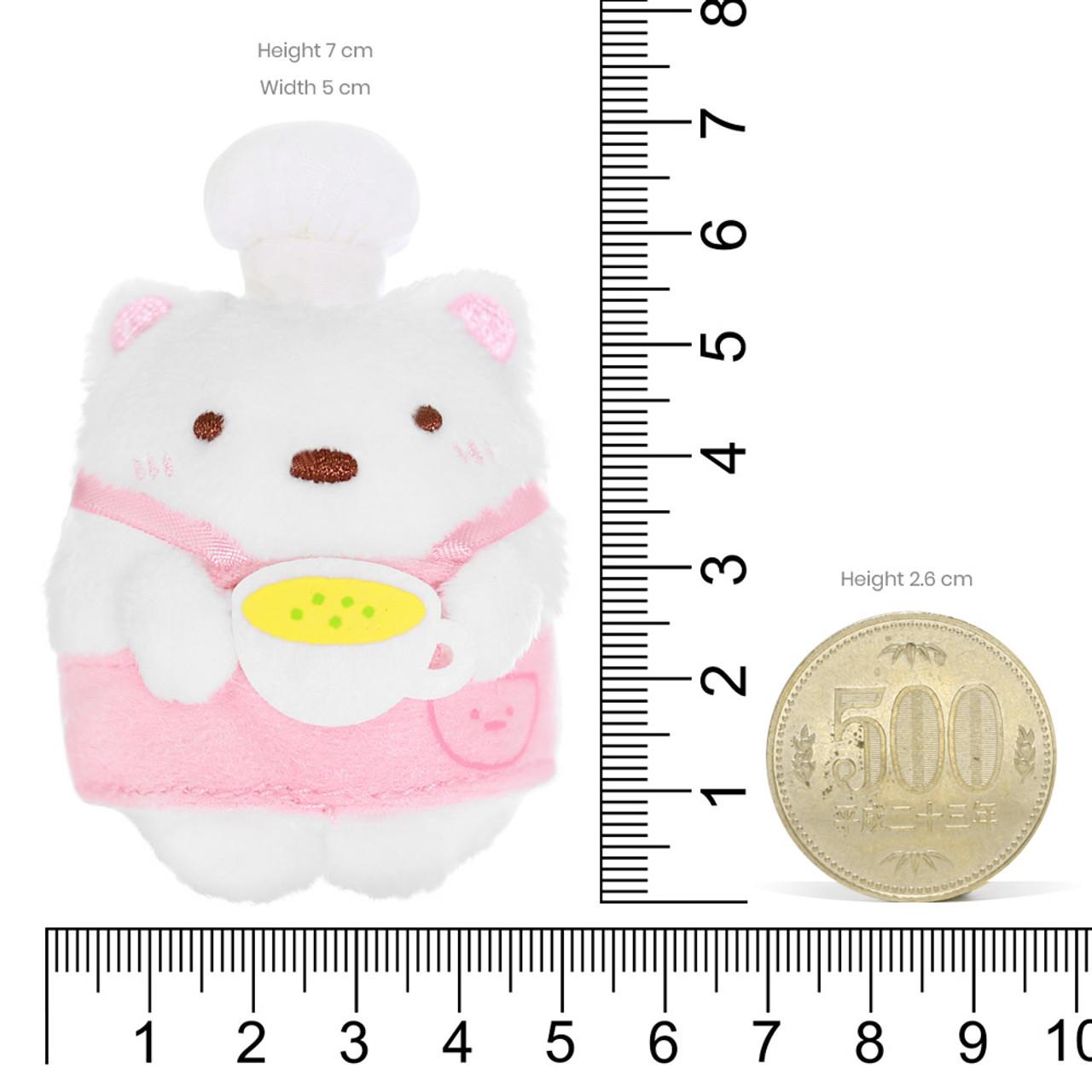 Sumikko Gurashi Polar Bear Palm Stuffed Animal - Chef ( Proportion )