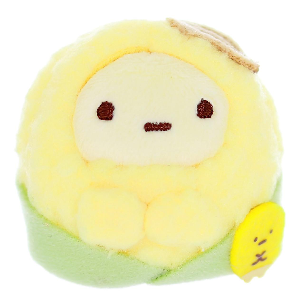 Sumikko Gurashi Tapioca Corn Palm Stuffed Toy ( Front Size )