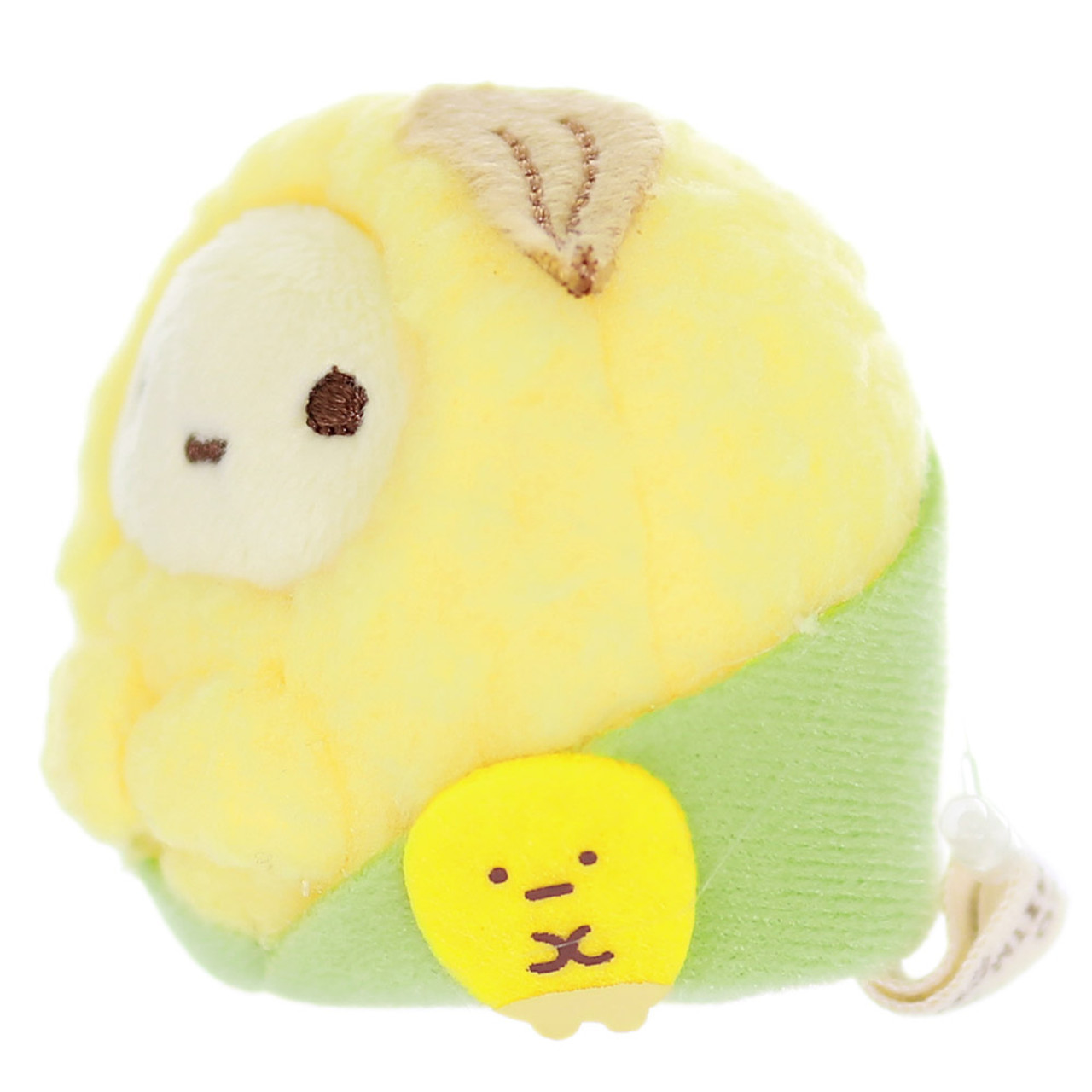 Sumikko Gurashi Tapioca Corn Palm Stuffed Toy ( Side View )