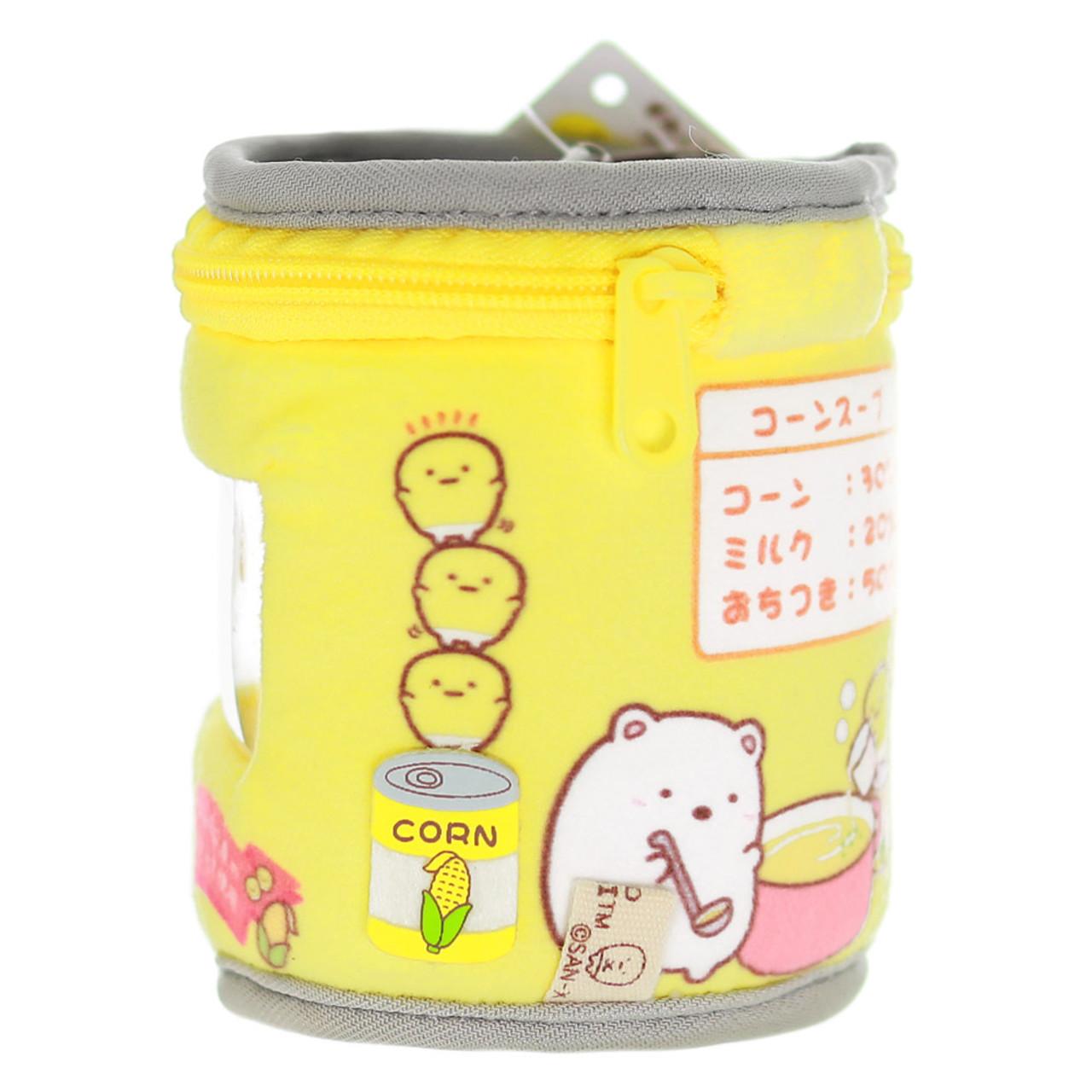 Sumikko Gurashi Premium Corn Can Plush keychain Charm ( Side View )