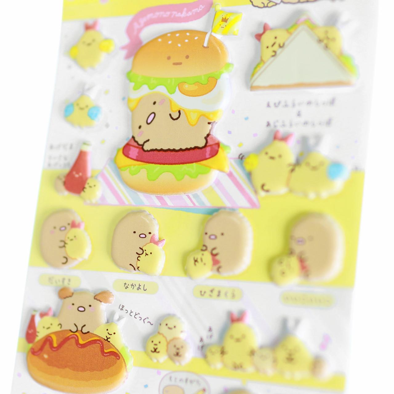 Sumikko Gurashi Funny Collection Sticker SE46501 - Eat ( Close-up 01 )