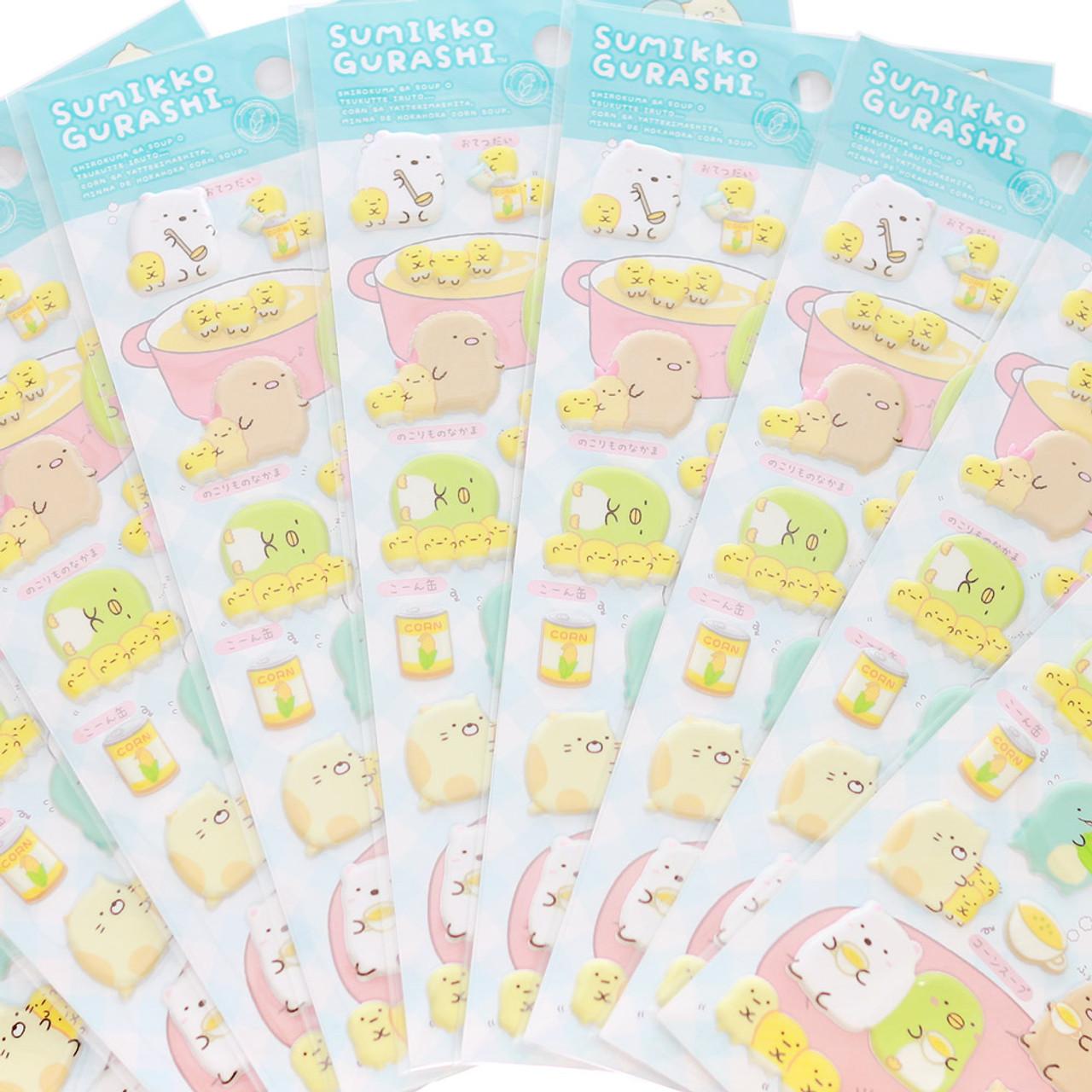 Sumikko Gurashi Funny Collection Sticker SE49202 - Drink ( Close-up 02 )