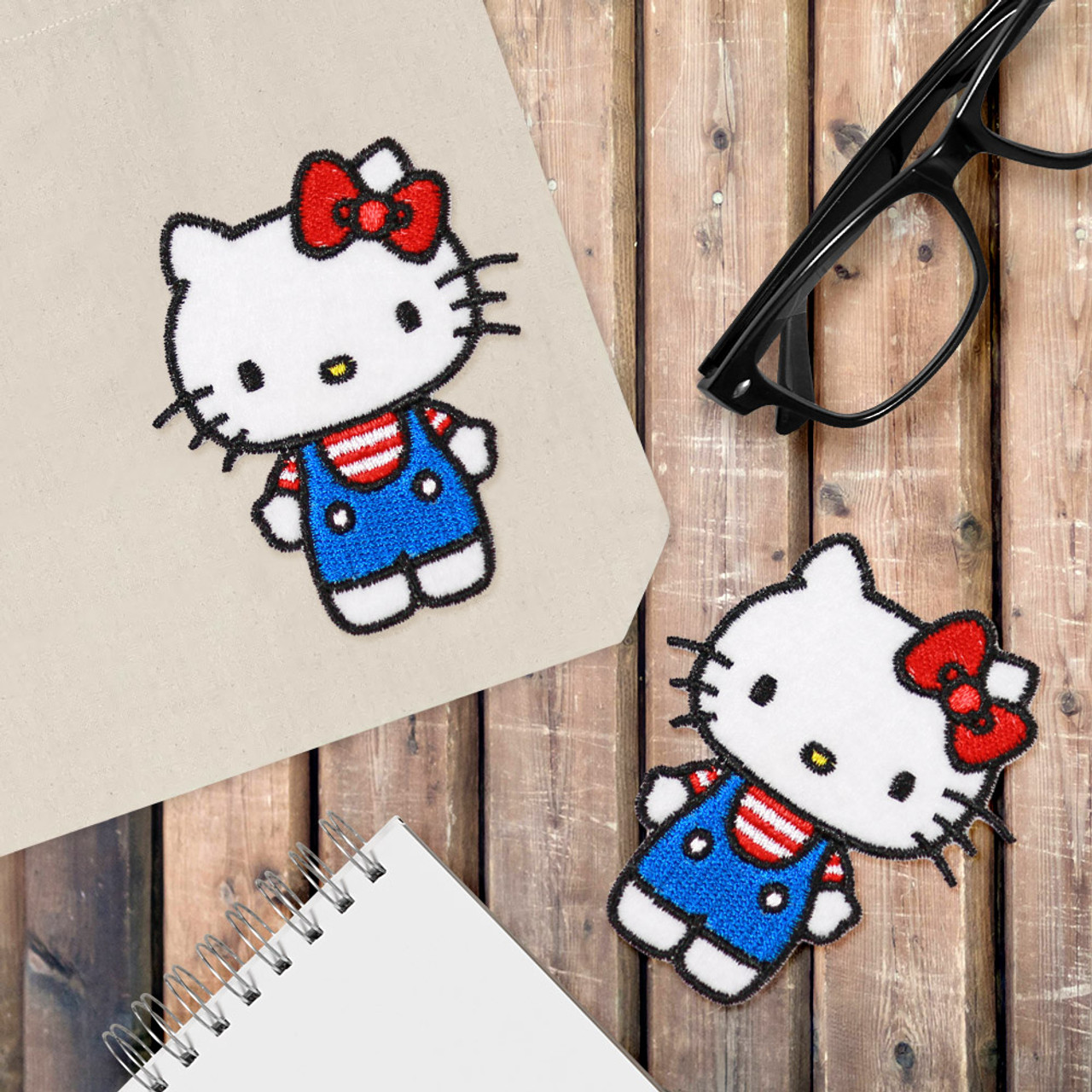 Sanrio Hello Kitty Iron On Patch BC13 ( Cover Image )