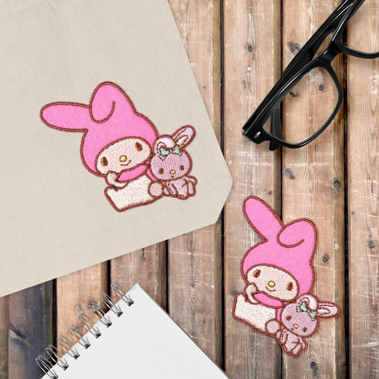Sanrio My Melody Iron On Patch - Rely On Rabbit BC14 ( Cover Image )