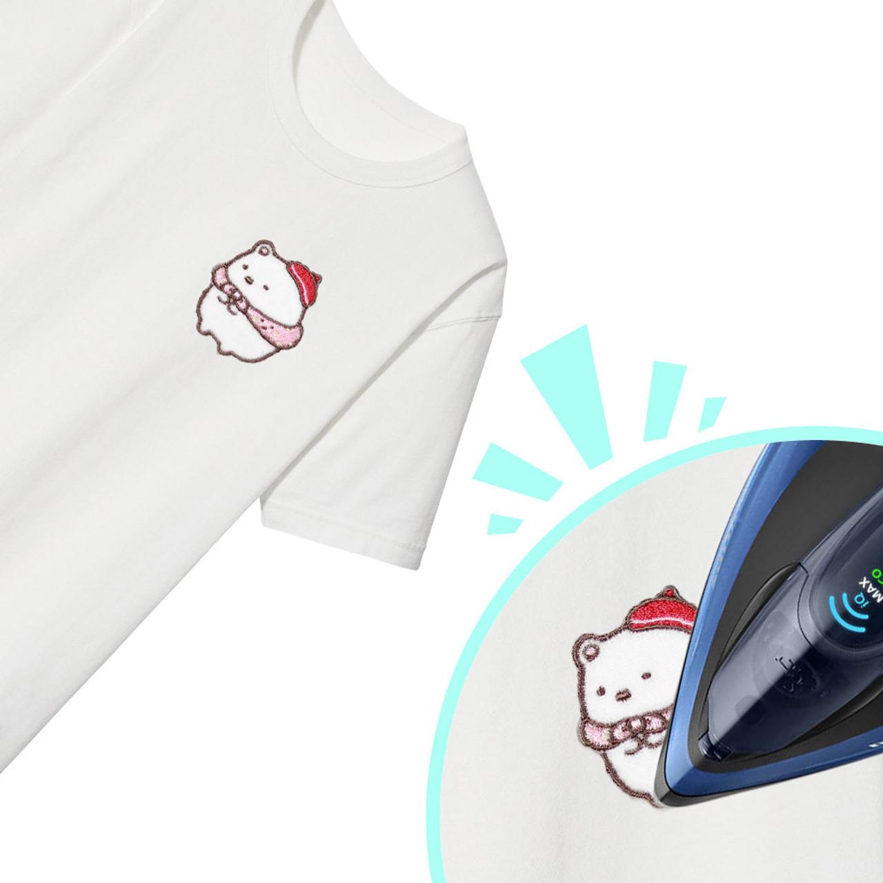 Sumikko Gurashi Iron On Patch Travel Polar Bear PSU106 ( Ironing Patch )