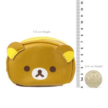 Cute Japanese Gifts For Her Mushroom Panda Key Purse /• Coin Pouch Mini Zipper Pouch Pocket Purse