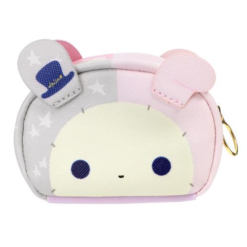 bad94052e48 ... San-x Sentimental Circus Shappo & Spica Bunny Two Side Mini Pouch (  Grey Spica ...