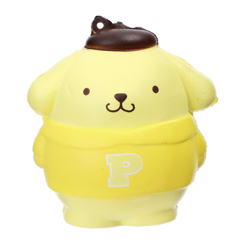 New Sanrio  POMPOM PURIN Plastic cased stickers From Japan F//S