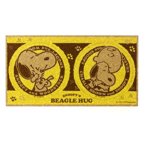 644fb1865ccd6 Peanuts Snoopy Yellow Cork Coaster