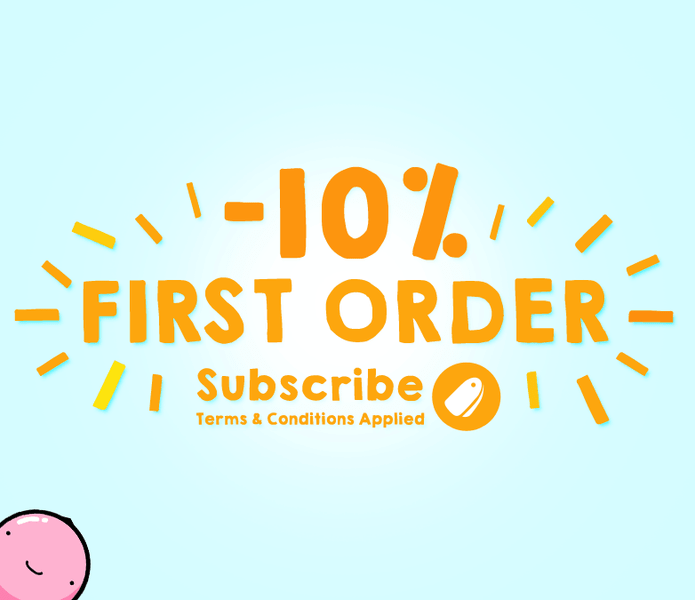 FIRST ORDER GET 10 PERCENT OFF, ENJOY