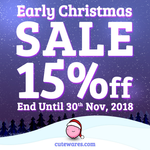 EVENT END! Early Christmas Sale Start from Hong Kong - Cute Wares