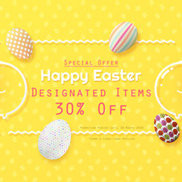( EVENT END ) Special Offer for Happy Easter 2020 | Valid until March 28, 2020 at 23:59:59 PST