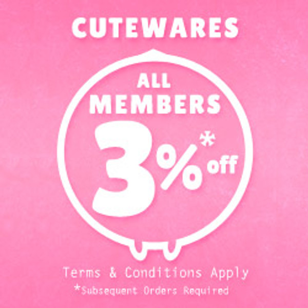 Member Extra 3% Off | Conditions Applied