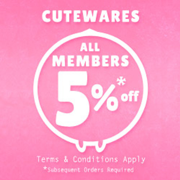 Member Extra 5% Off | Conditions Applied