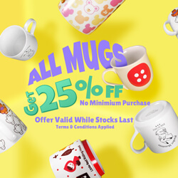 All Kawaii Mugs 25% Off ! Come Seek Find Search :D