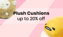Plush Cushions up to 20% off
