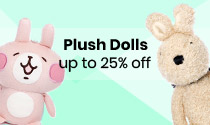 Plush Dolls up to 25% off