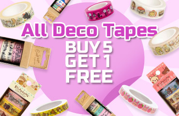 All Deco Tapes Buy 5 Get 1 Free