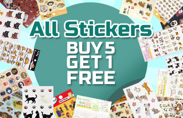 All Stickers Buy 5 Get 1 Free