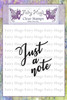 Fairy Hugs Stamps - Just A Note