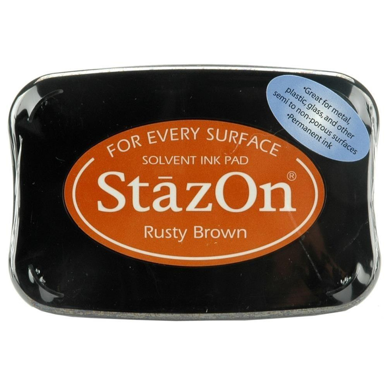 Staz-On - Solvent Ink - Rusty Brown