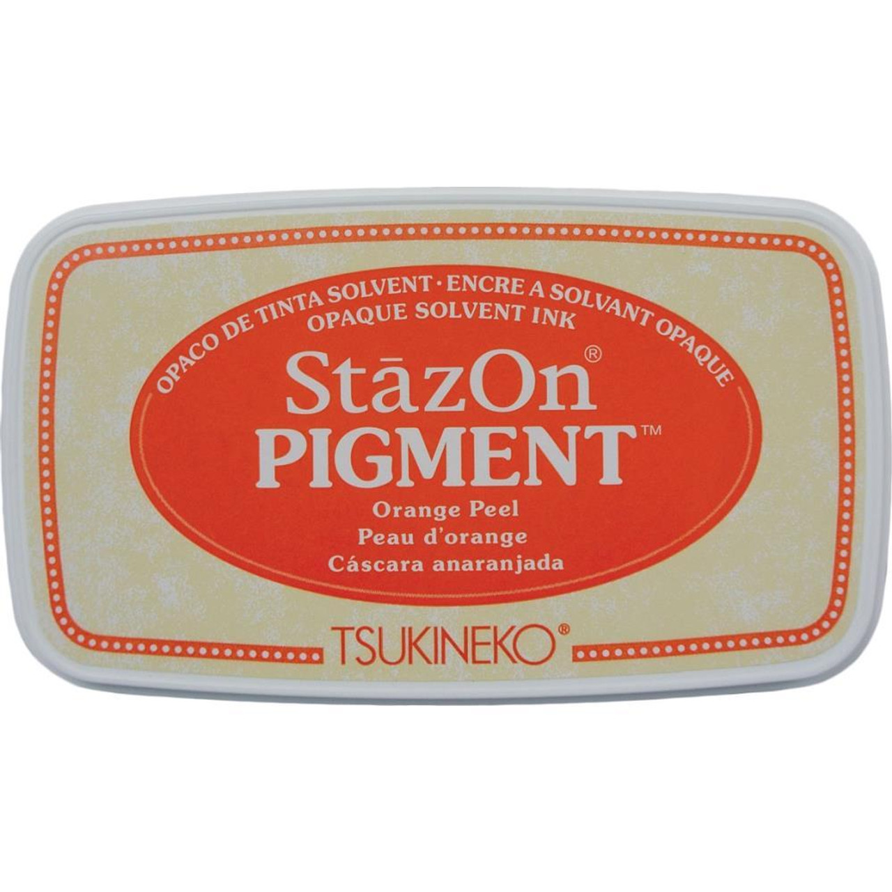 StazOn Pigment Ink Pad - Orange Peel