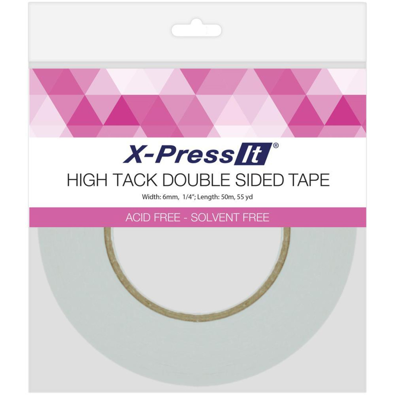 """X-Press It High Tack Double-Sided Tissue Tape - 1/4"""""""