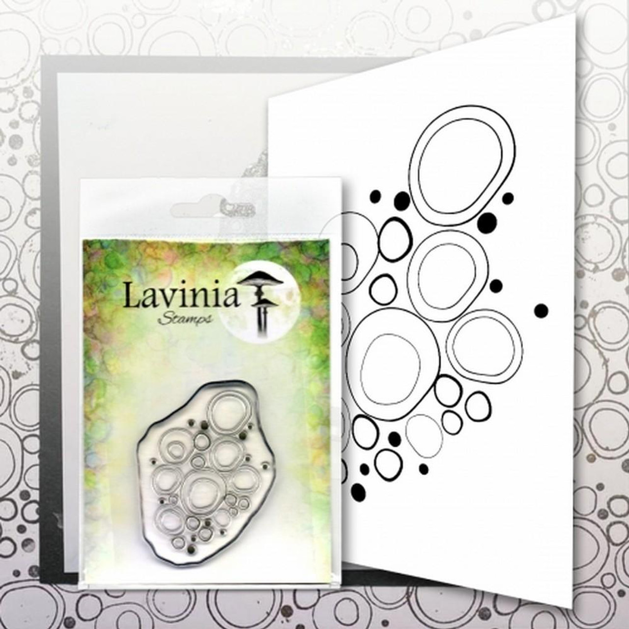 Lavinia Stamps - Blue Orbs  (LAV583)
