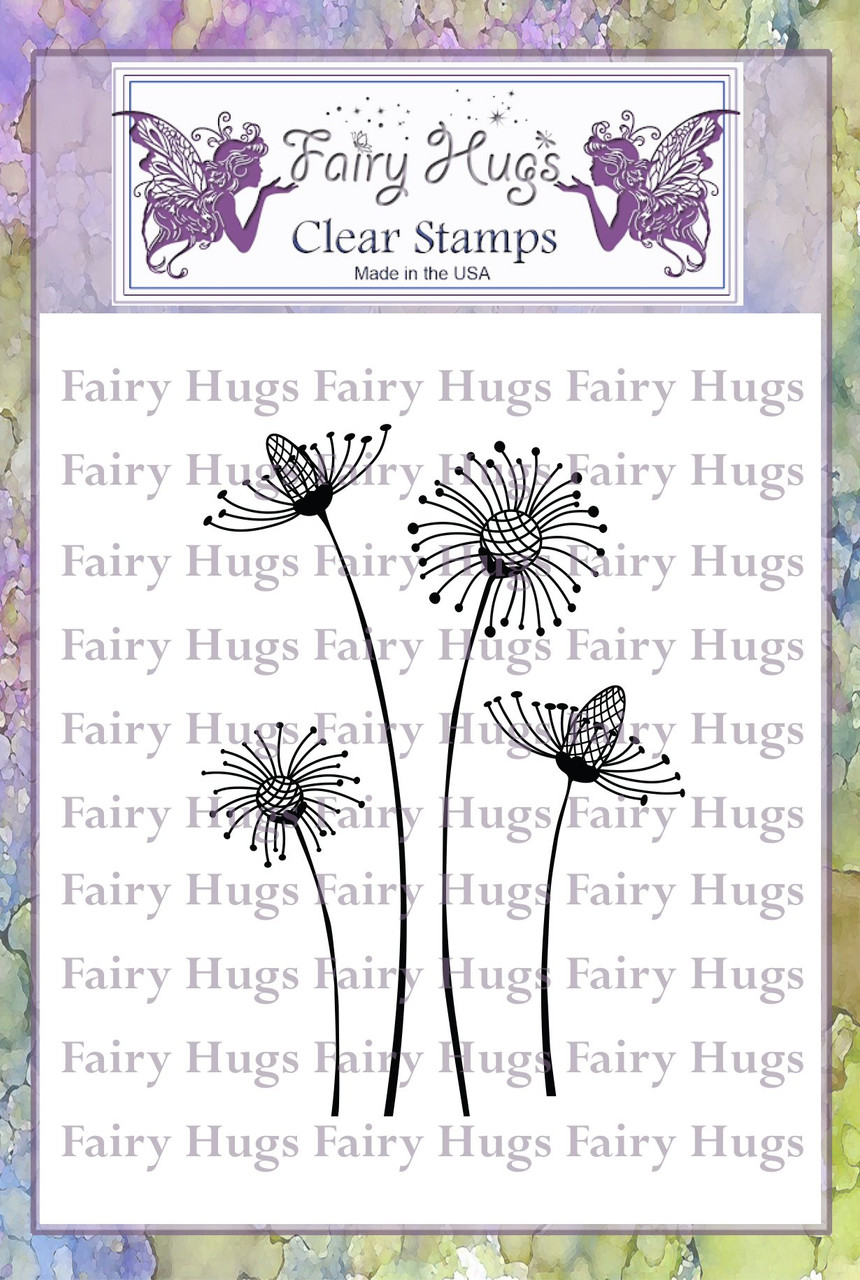 Fairy Hugs Stamps - Fantasy Flowers