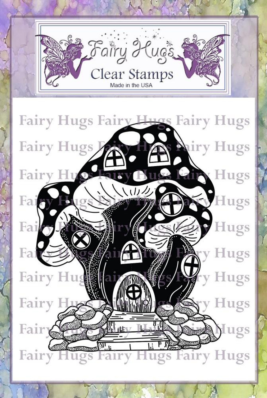 Fairy Hugs Stamps - Toadstool House