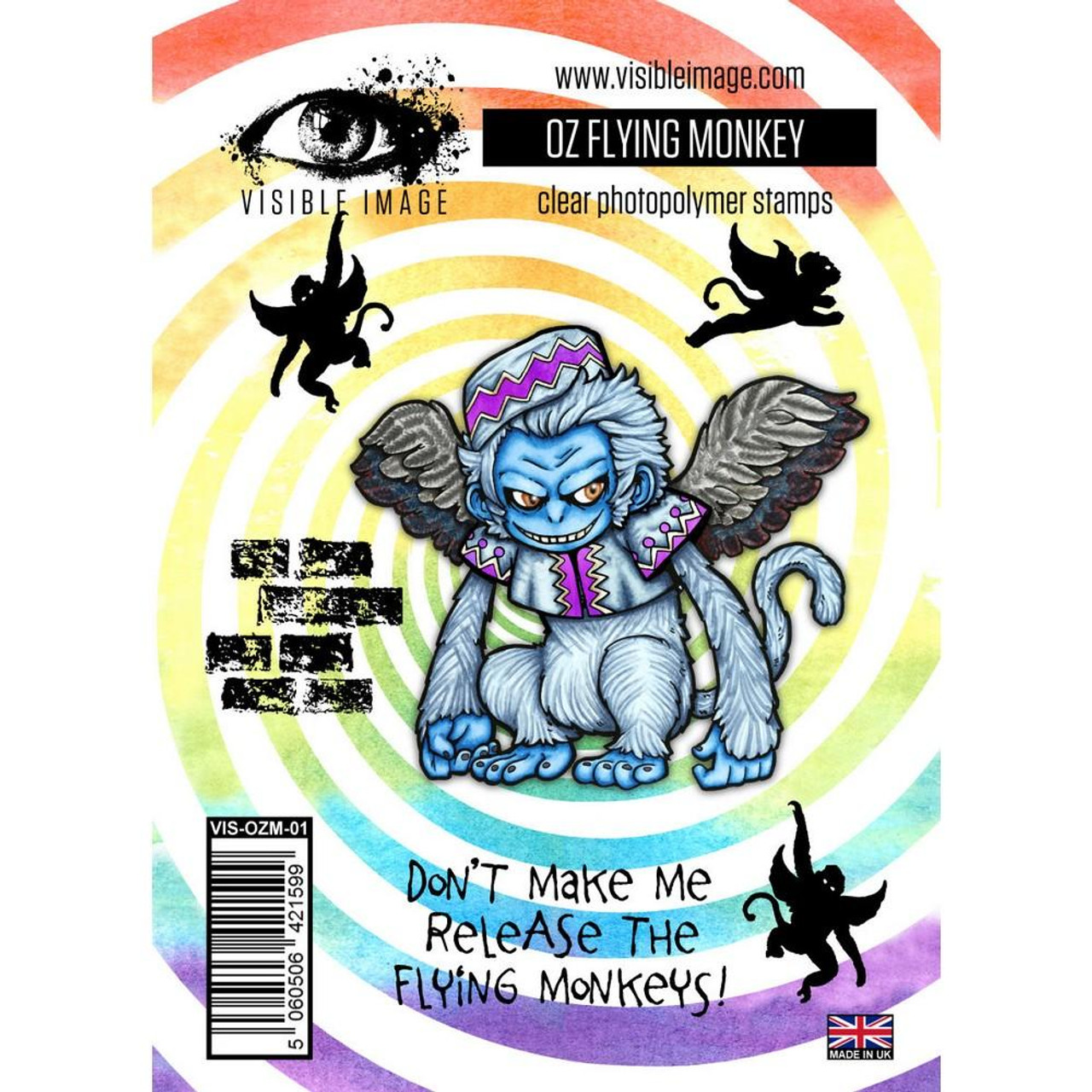 Visible Image - Stamps - OZ Flying Monkey Stamps