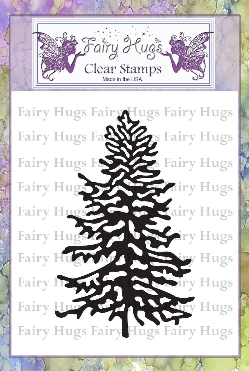 Fairy Hugs Stamps - Snowy Fir