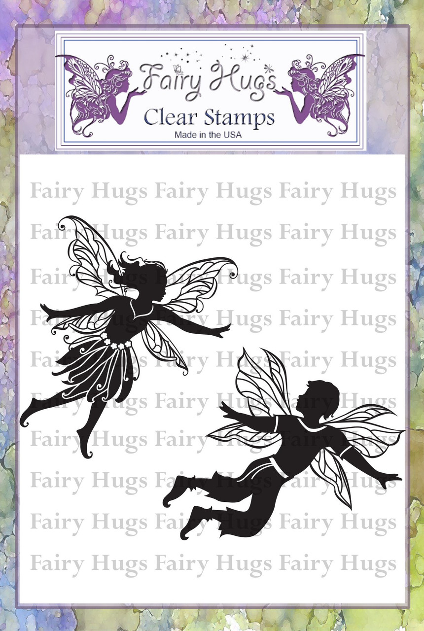 Fairy Hugs Stamps - Ginko & Kenzie