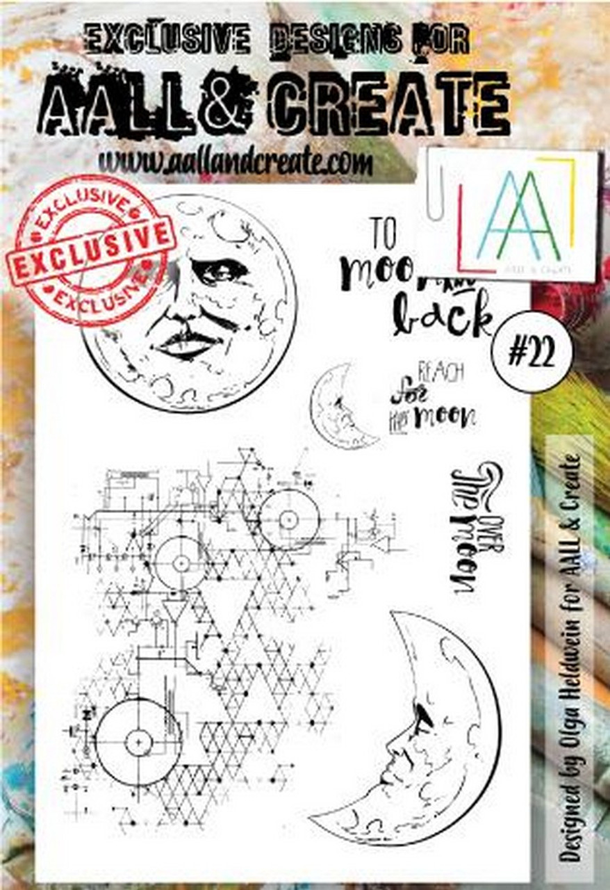 AALL & Create - A6 - Stamp - #22