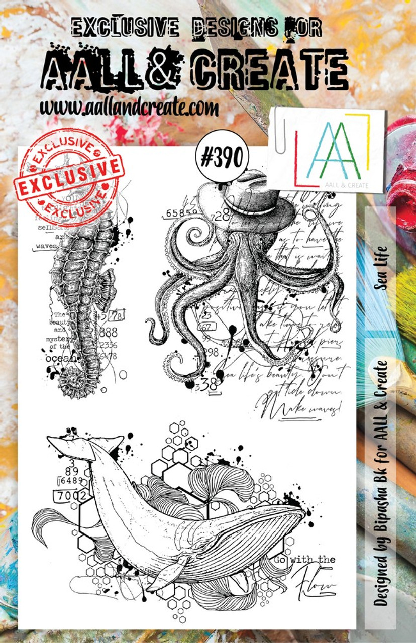AALL & Create - A5 - Stamp - #390