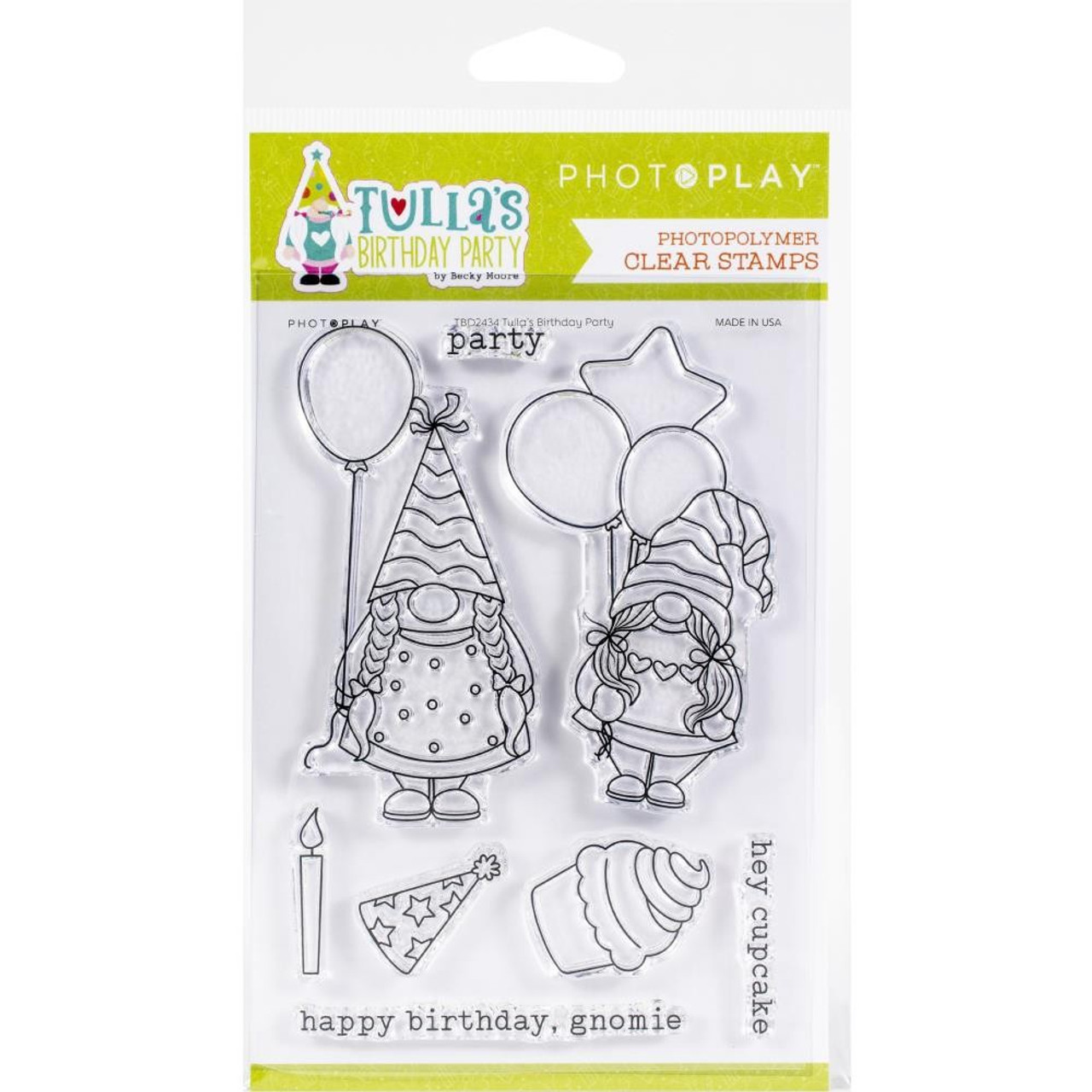 Photoplay - Clear Stamps - Tulia's Birthday