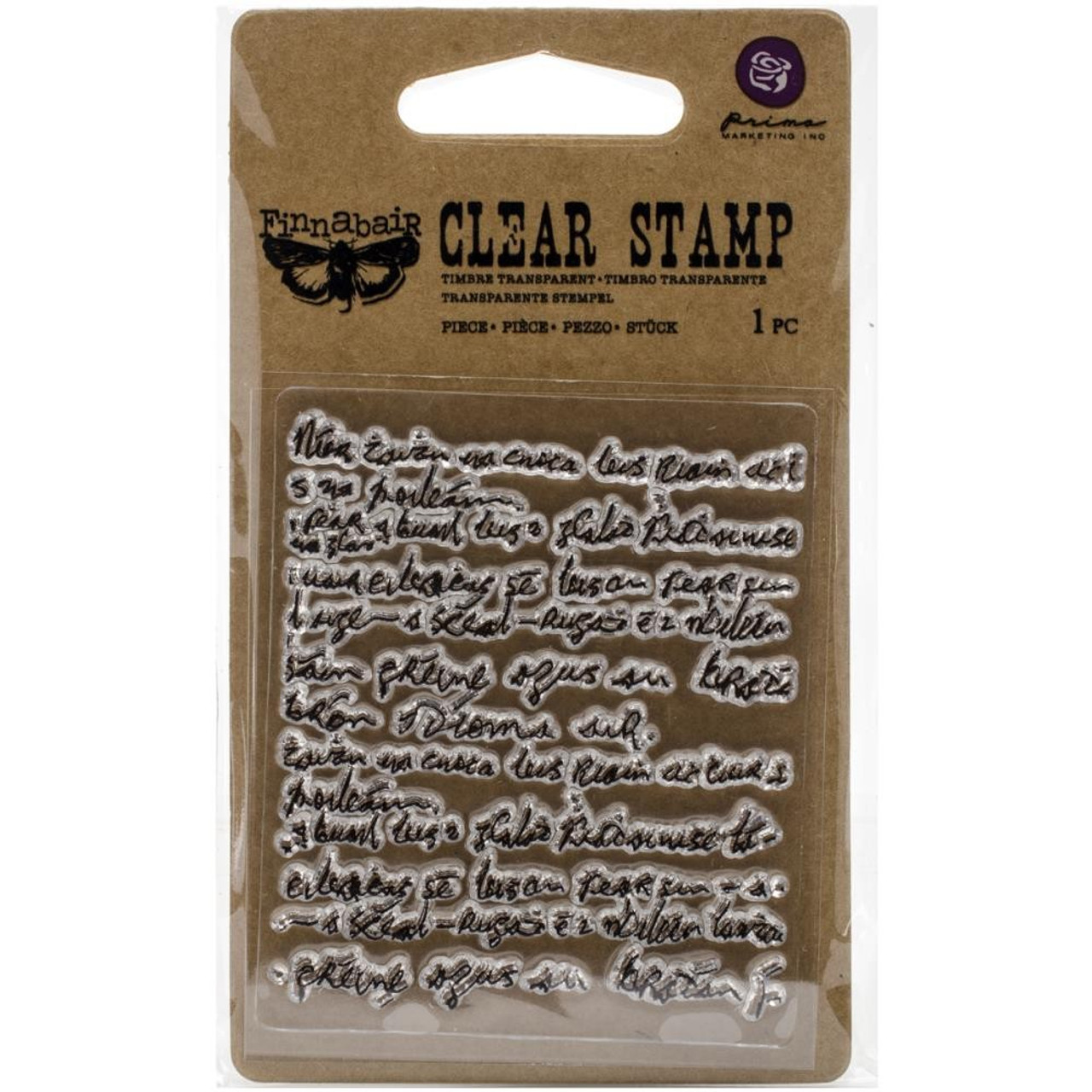Prima Marketing - Clear Stamp - Messy