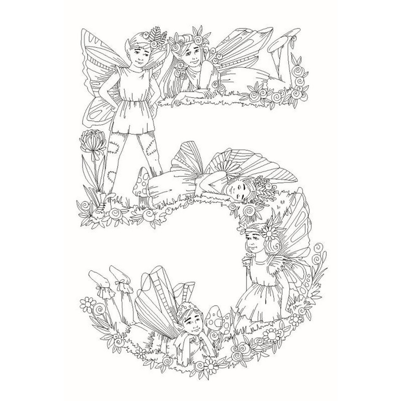 Sweet Dixie - Clear Stamps - Fairy Number 5