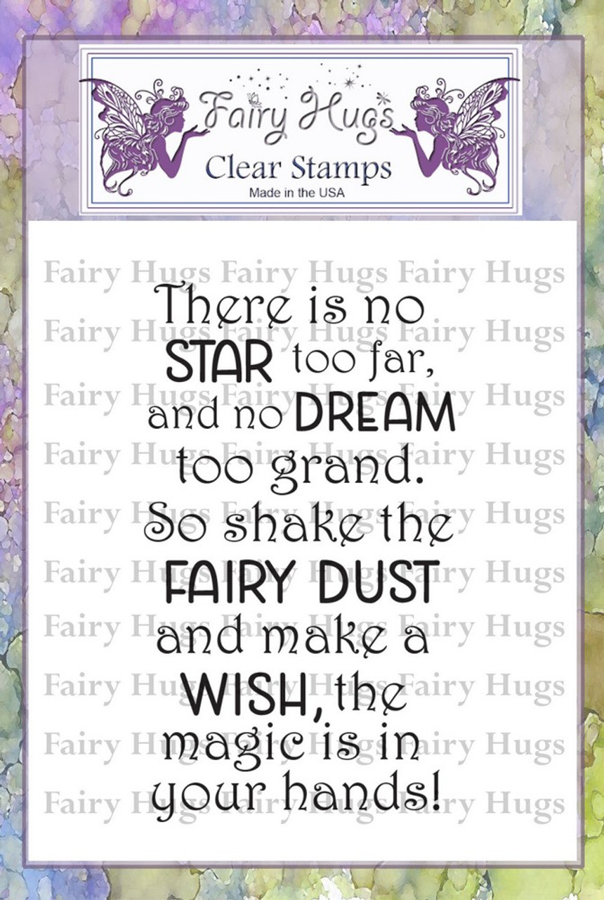Fairy Hugs Stamps - Make A Wish