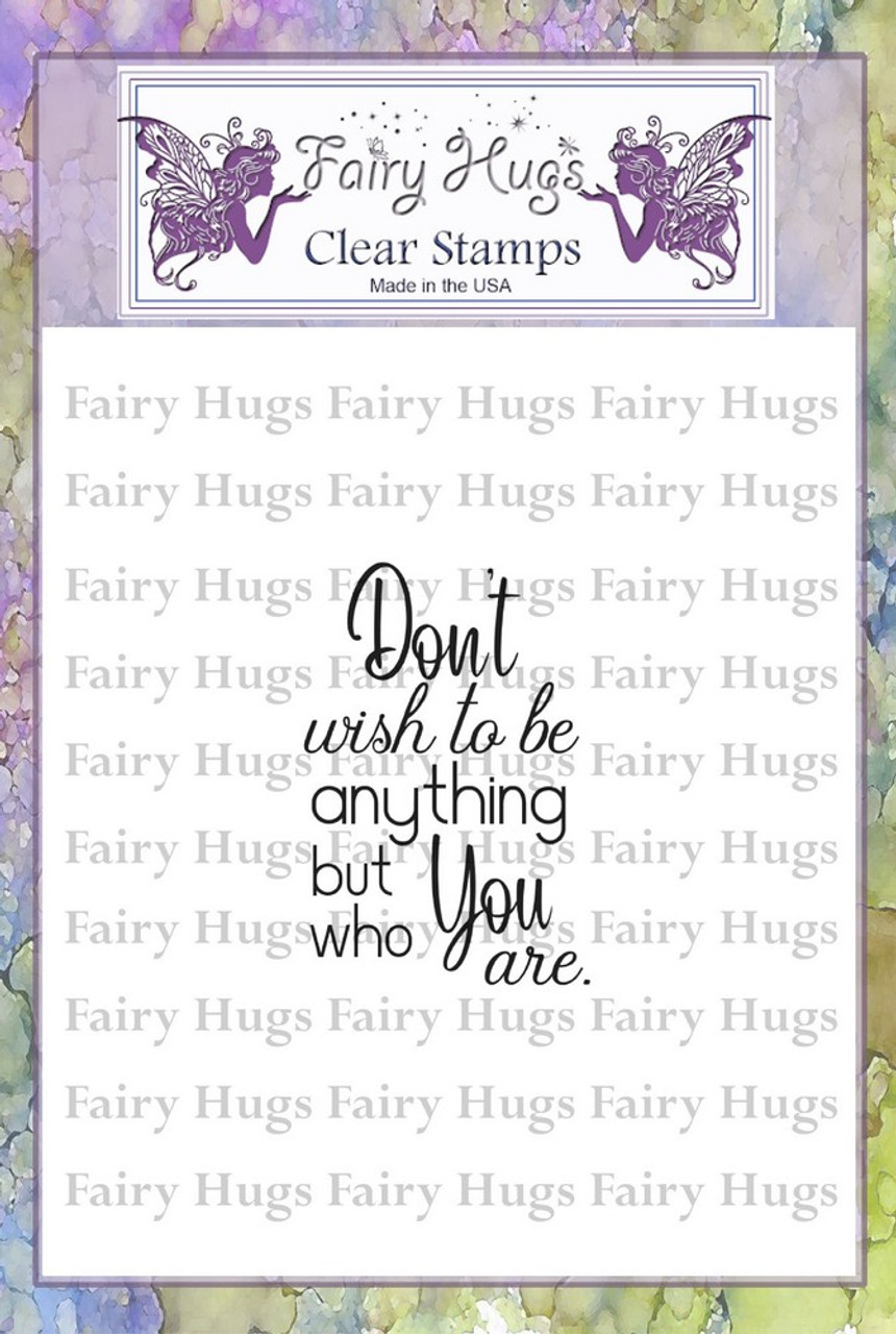 Fairy Hugs Stamps - Who You Are