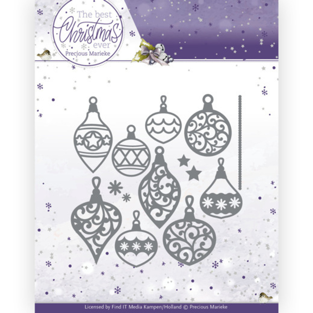 Precious Marieke - Dies - The Best Christmas Ever - Bunch Of Christmas Baubles