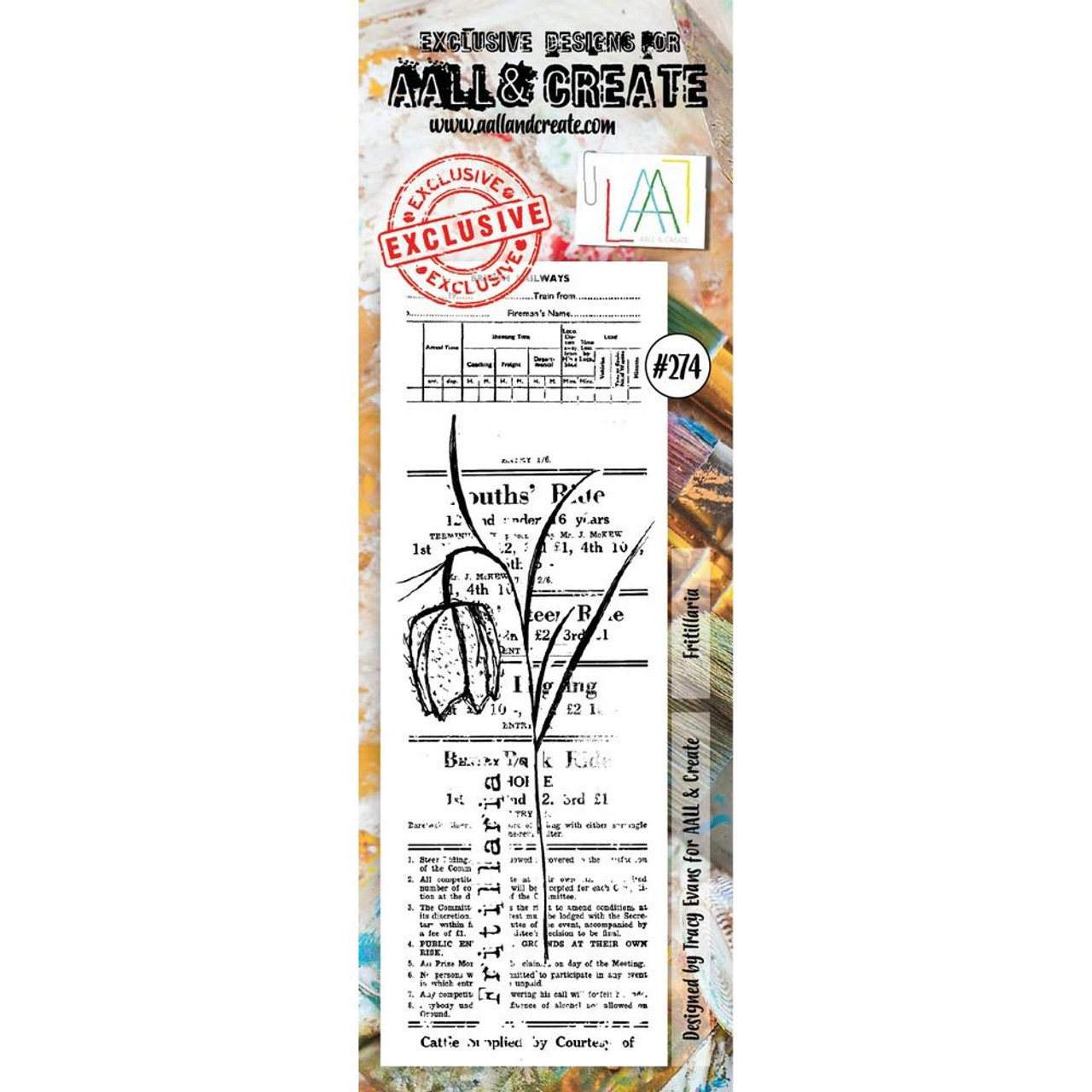 AALL & Create - Stamps - Fritillaria #274