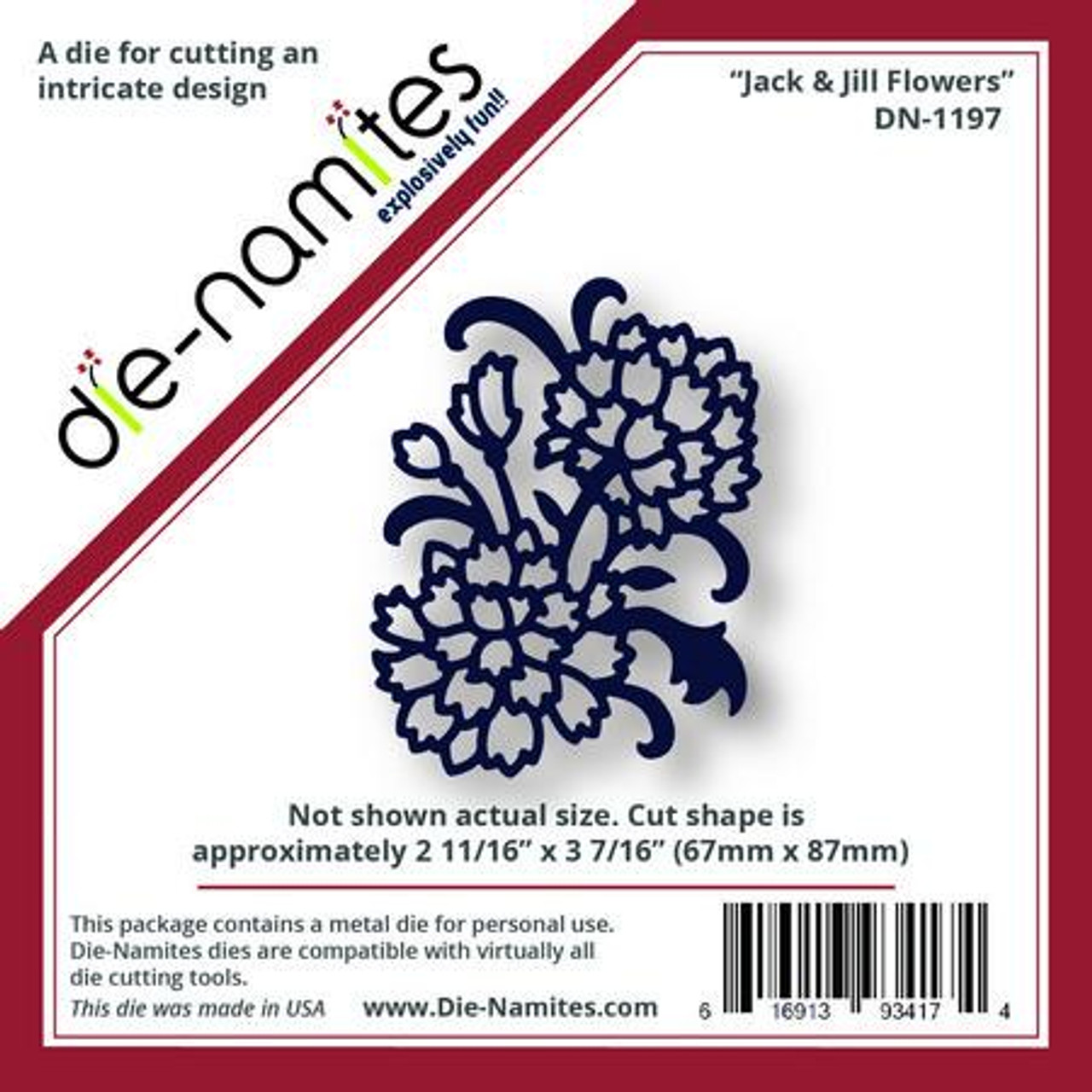 Die-Namites - Jack and Jill Flowers