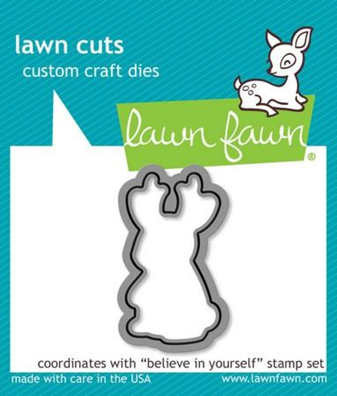 Lawn Fawn - Believe In Yourself Dies